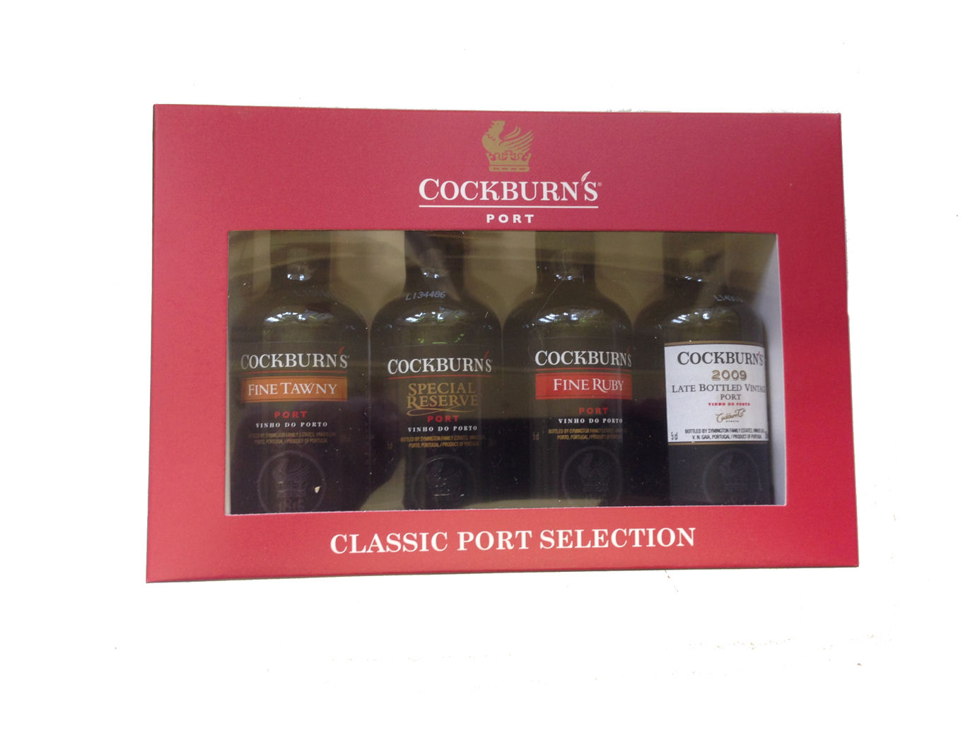 Cockburns Miniture Port Selection Pack 4 X 05cl